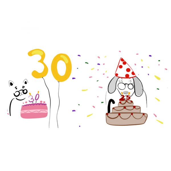 Doğumgünü pastası Cat Birthday Dog Birthday